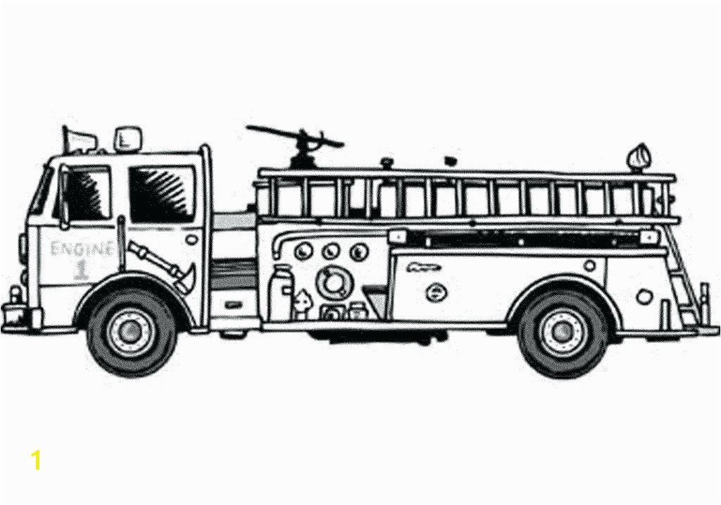 New Truck Coloring Pages for Preschoolers for Kids for Adults In Free Fire Truck Coloring Pages