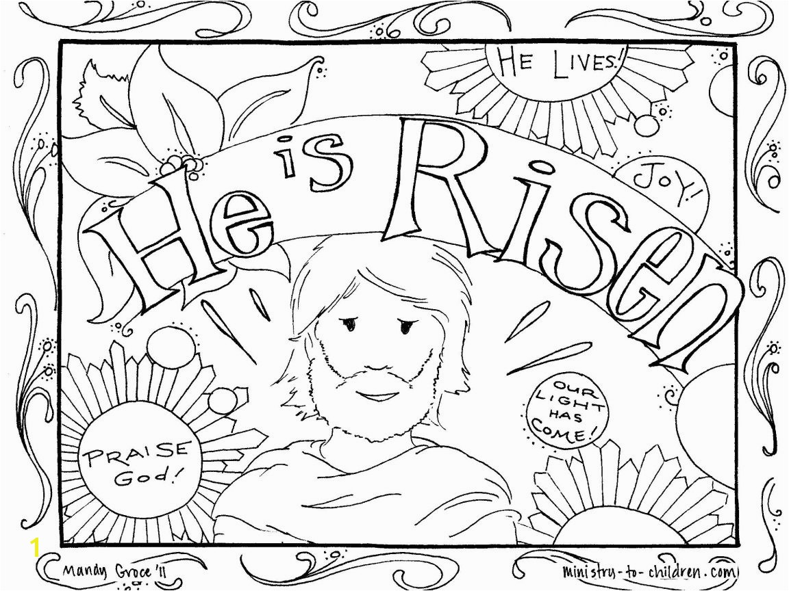 Excellent Printable Coloring Pages Easter Religious Adult Free Christian For 1152