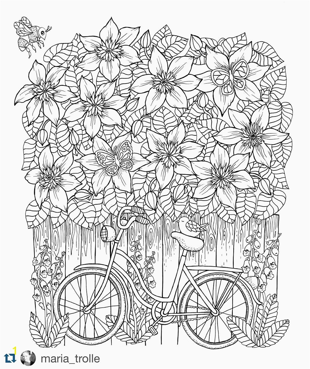 Pretty Coloring Pages Flowers Best Cool Vases Flower Vase Coloring Page Pages Flowers In