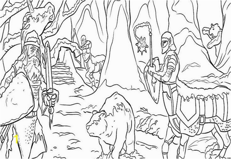 Gallery of prince caspian coloring pages