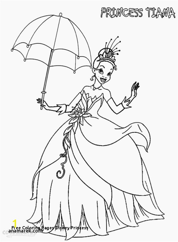 24 Free Coloring Pages Disney Princess