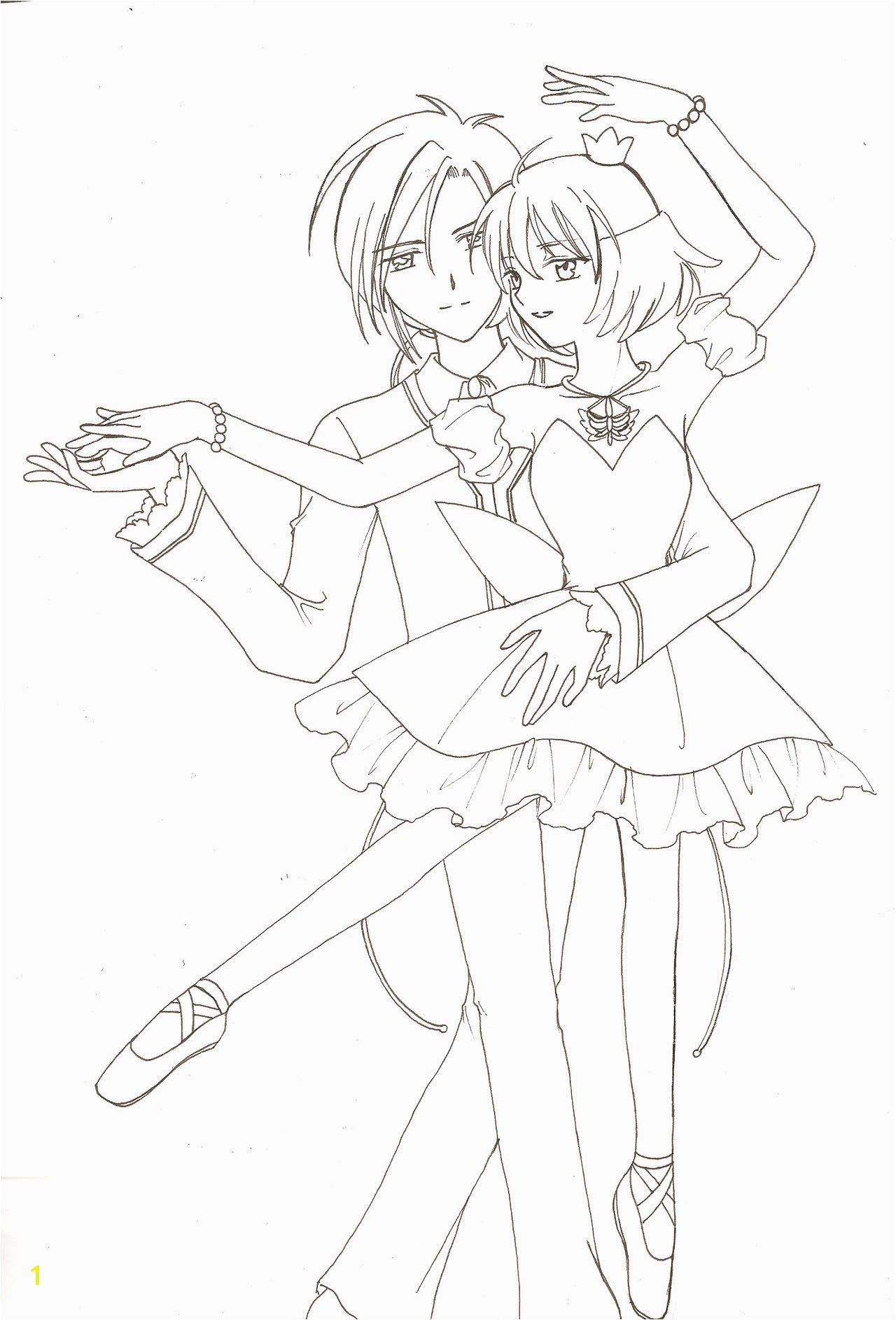Princess Tutu Coloring Pages Category Coloring Pages 17