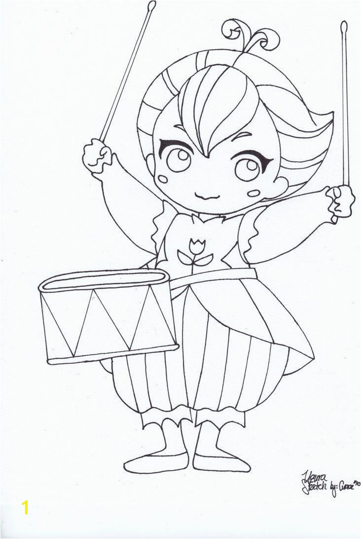 Labeled tutu coloring pages