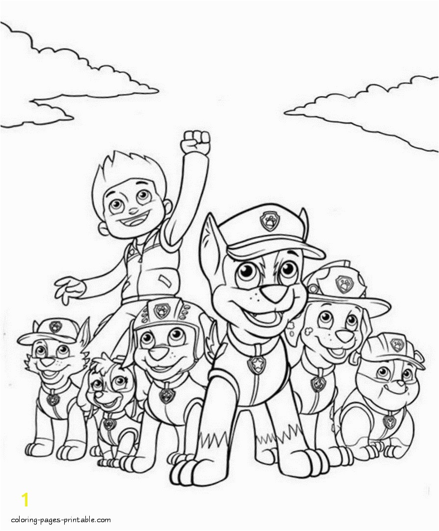 Paw Patrol Printable Coloring Pages Fresh Gorgeous Paw Patrol Coloring 13 Chase Page Drawing Paw