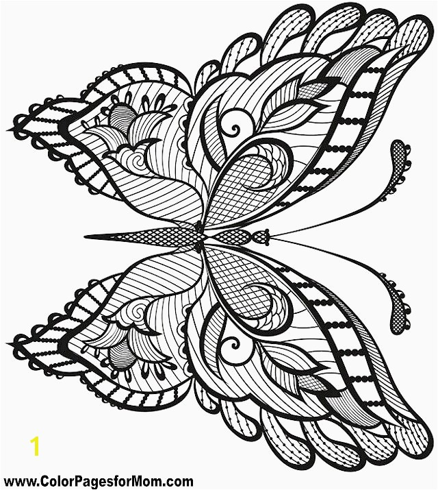 Butterfly Coloring Pages 24 Unique Pics butterfly Color Pages – Carimut