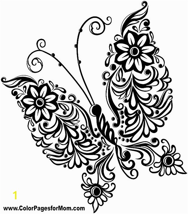 Print butterfly Coloring Pages butterfly Coloring Pages butterfly Coloring Page 37 butterflies to