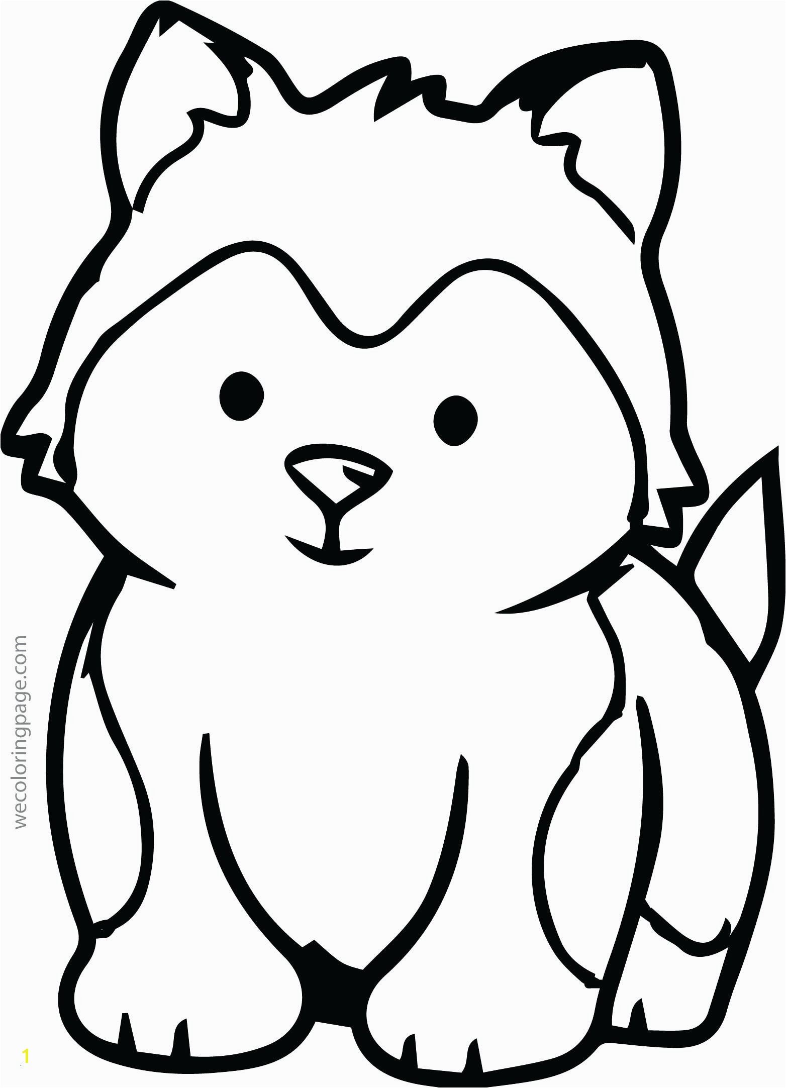 Blank Animal to Color Fresh Animal Coloring Pages Elegant Husky Coloring 0d Free Coloring Pages