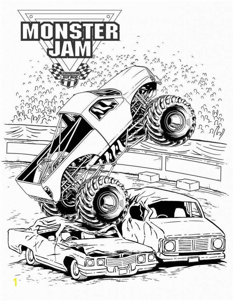 Printable Coloring Pages Monster Truck Advance Auto Parts Monster Jam Ticket Giveaway