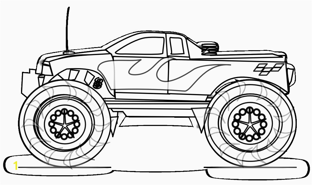 Monster Truck Coloring Pages For Kids Free Printable Monster Truck Coloring Pages 625 Cool Trucks Coloring