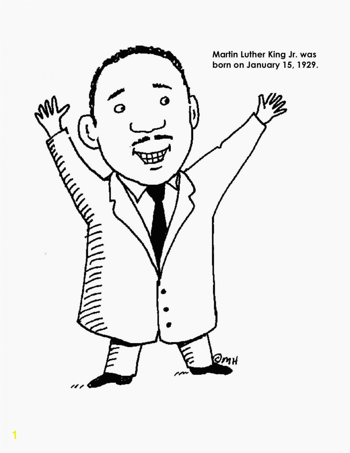 Martin Luther King Jr Coloring Pages Martin Luther King Jr Coloring Pages Printable Coloring Pages