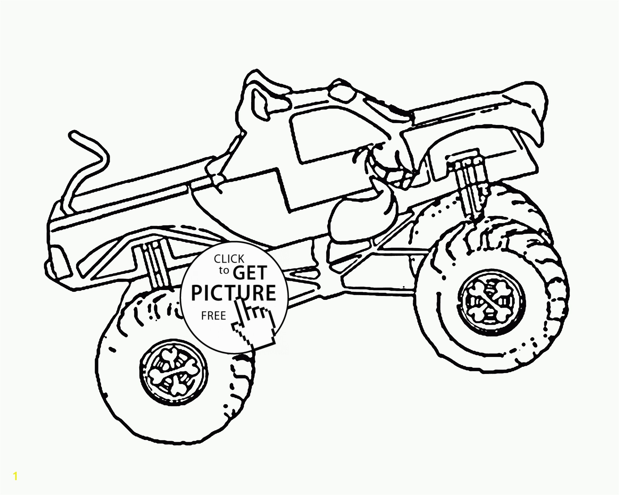 Printable Coloring Sheets Monster Trucks Scooby Doo Monster Truck Coloring Page for Kids Transportation