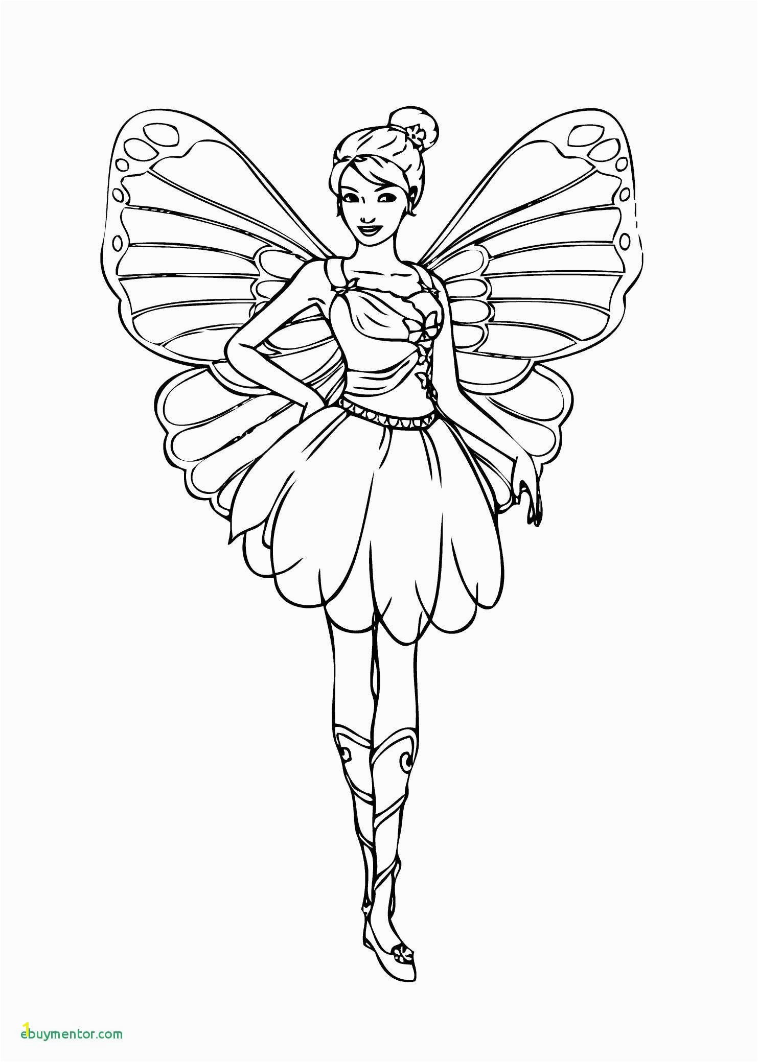 Printable Fairy Coloring Pages Coloring Pages Barbie Fairy Awesome Coloring Pages for Girls Lovely