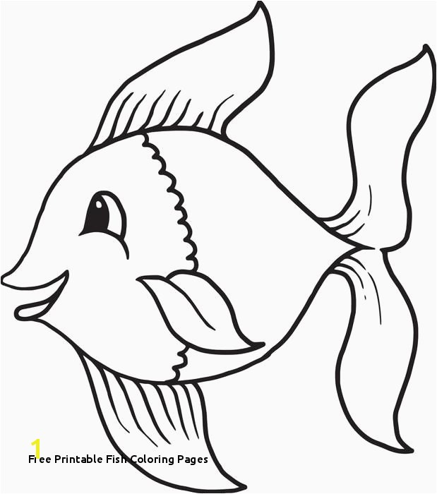 Free Printable Fish Coloring Pages Free Fish Coloring Pages Free Fish Coloring Pages New Disciples Od
