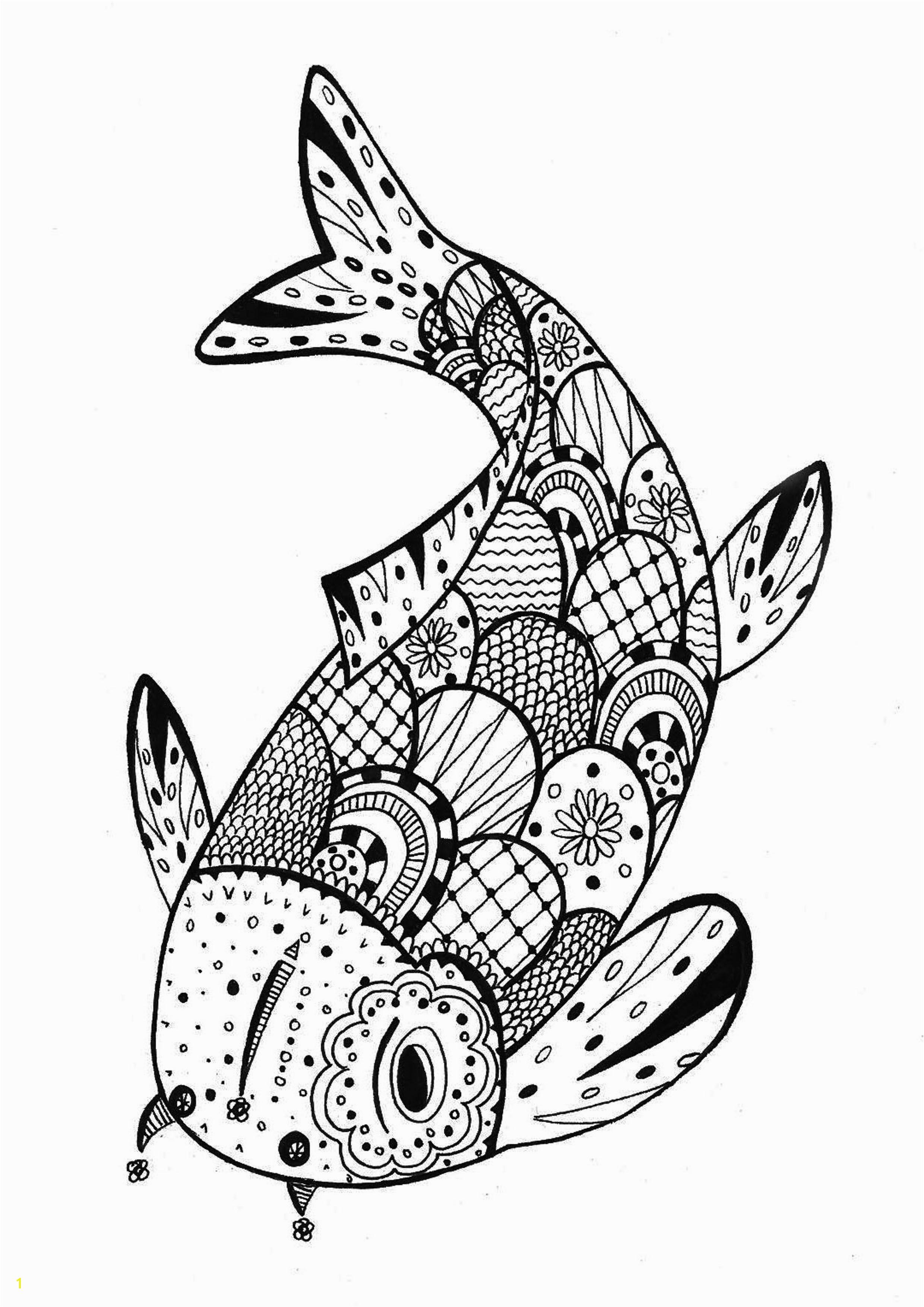 A Fish Coloring Page Fresh Best Fresh S S Media Cache Ak0 Pinimg originals 0d B4 2c