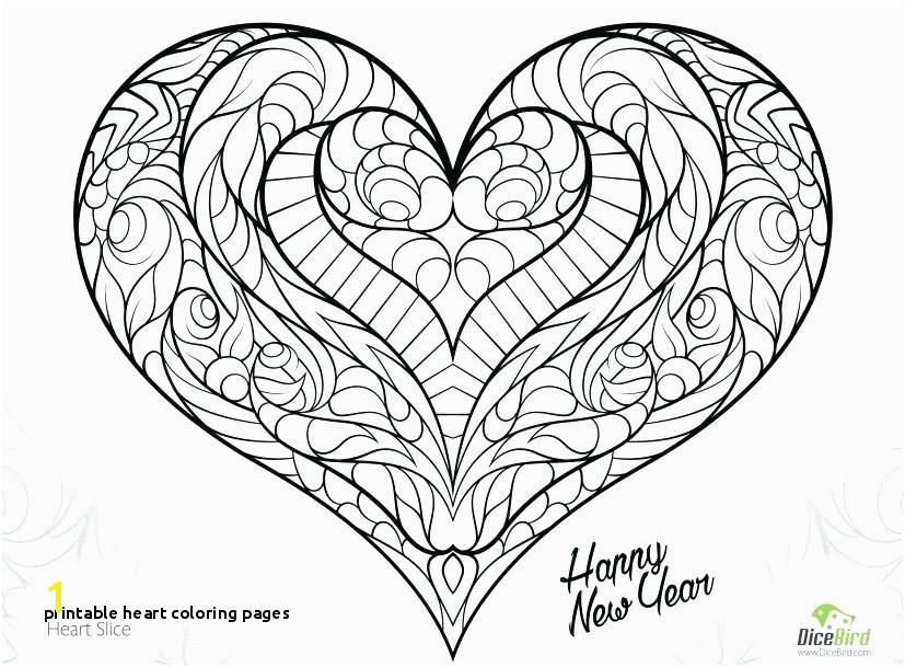 plex Heart Coloring Pages Amazingly Exquisite Free Printable
