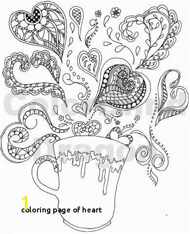 Coloring Page Heart Drawing Step by Step Hearts Luxury Awesome Coloring Page for Adult