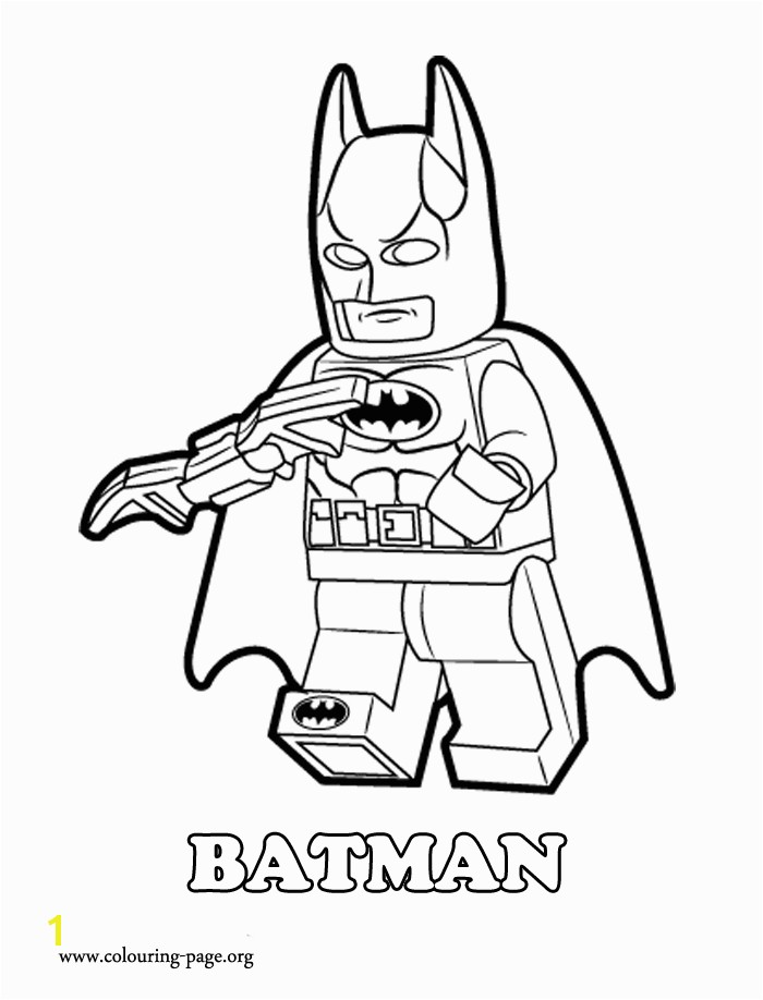 Batman is a Lego superhero and Master Builder Enjoy with this another awesome and free coloring page from The Lego Movie Just print it