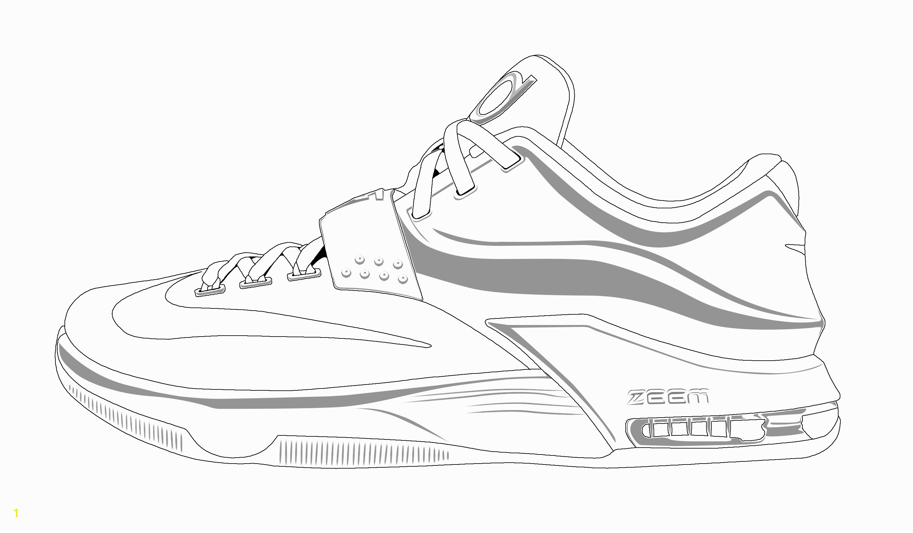 Great Running Shoes Coloring Pages Drawing At GetDrawings Free For Personal Use