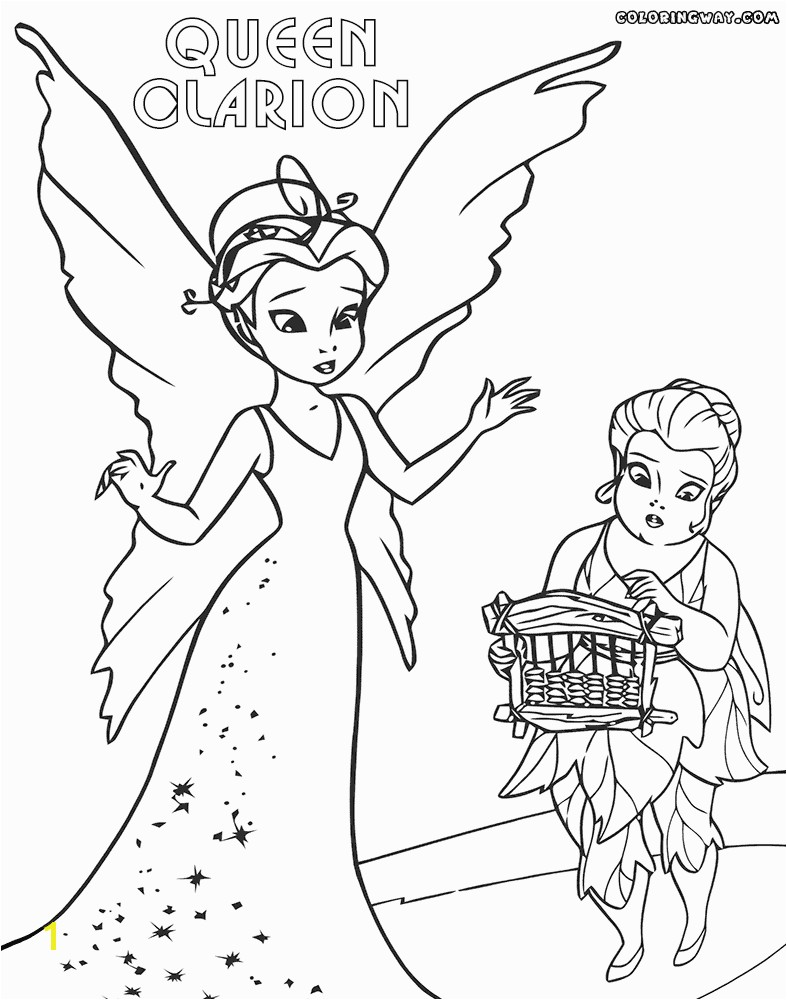 Last Chance Queen Clarion Coloring Pages To Download And Print
