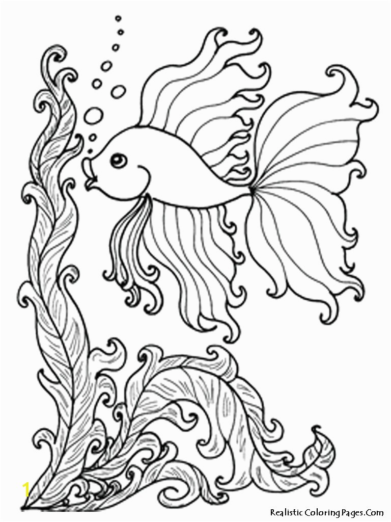 Ocean Animals Coloring Pages 13w Fresh Sea Fish Best S Media Cache Ak0 Pinimg Originals 0d