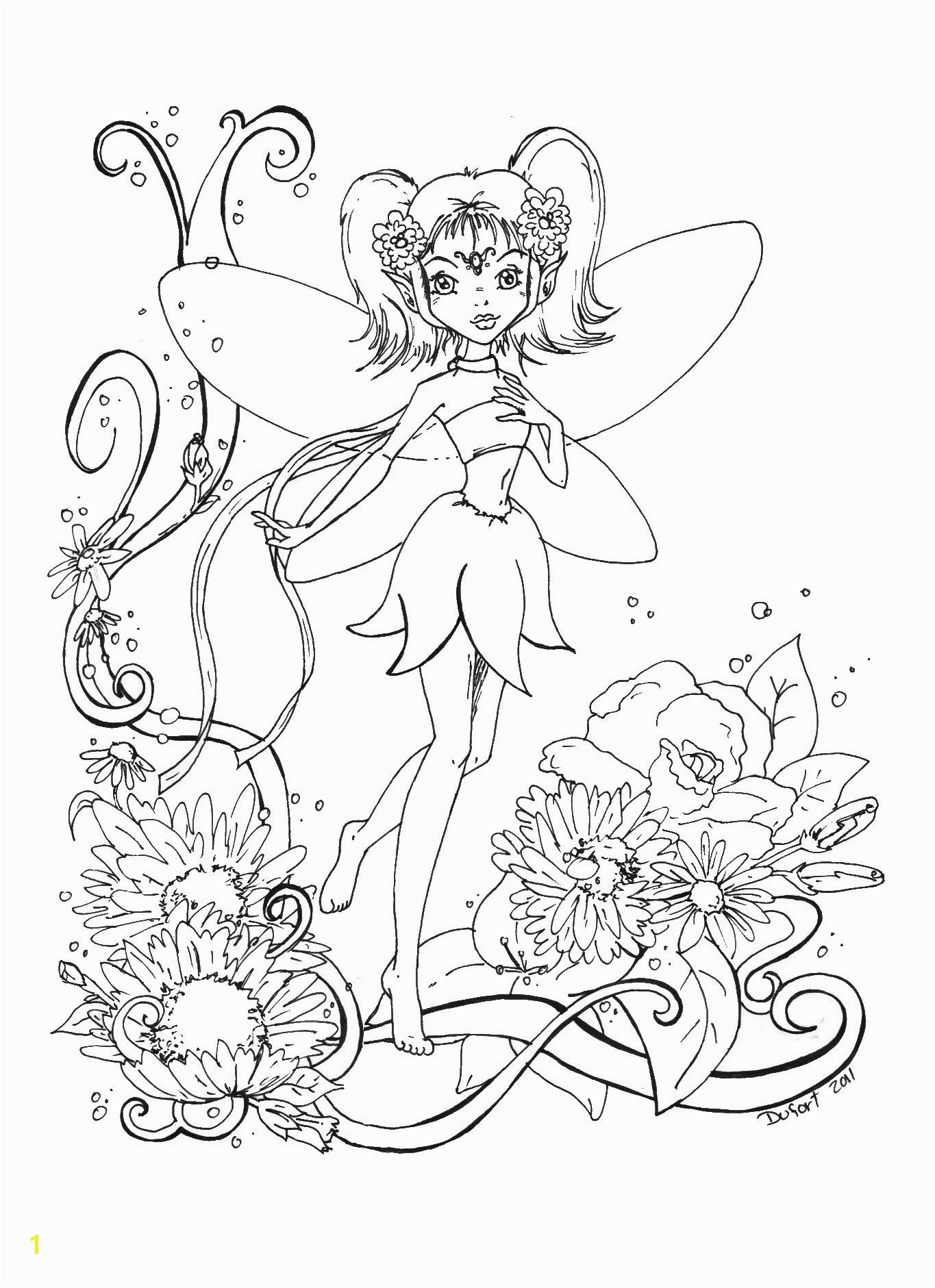 Fairy Coloring Pages For Kids Fresh Realistic Fairy Coloring Pages For Adults Coloring Pages