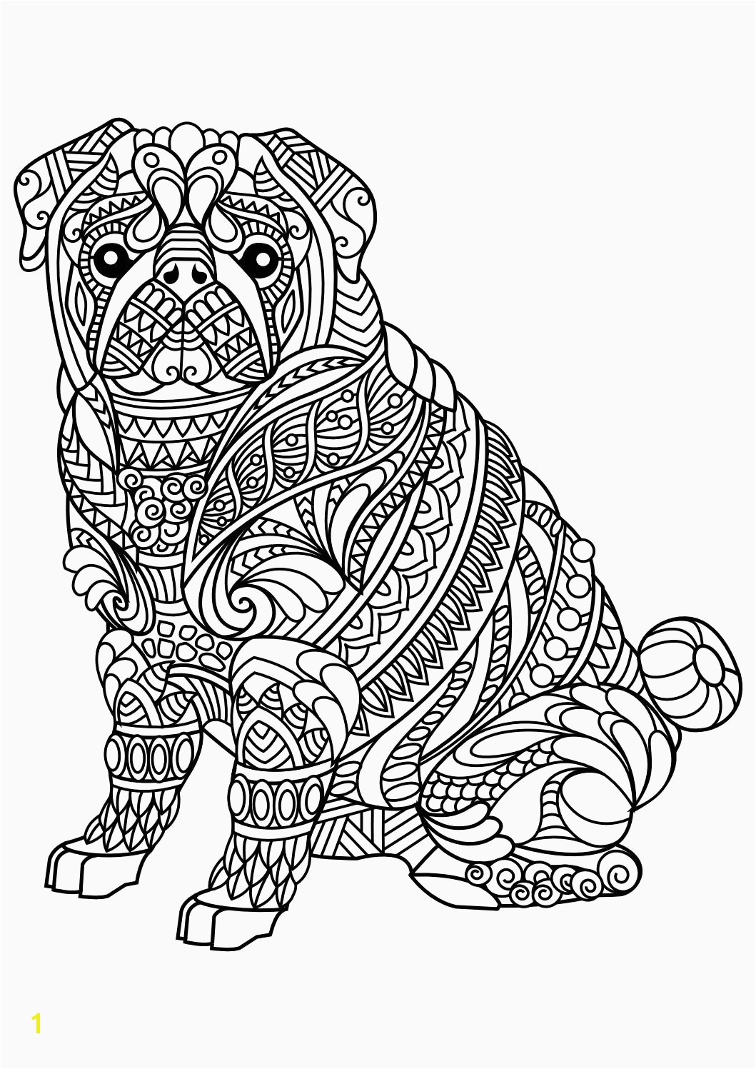 Printable Coloring Pages Zoo Animals Free Printable Realistic Animal Coloring Pages Fresh Best Od Dog