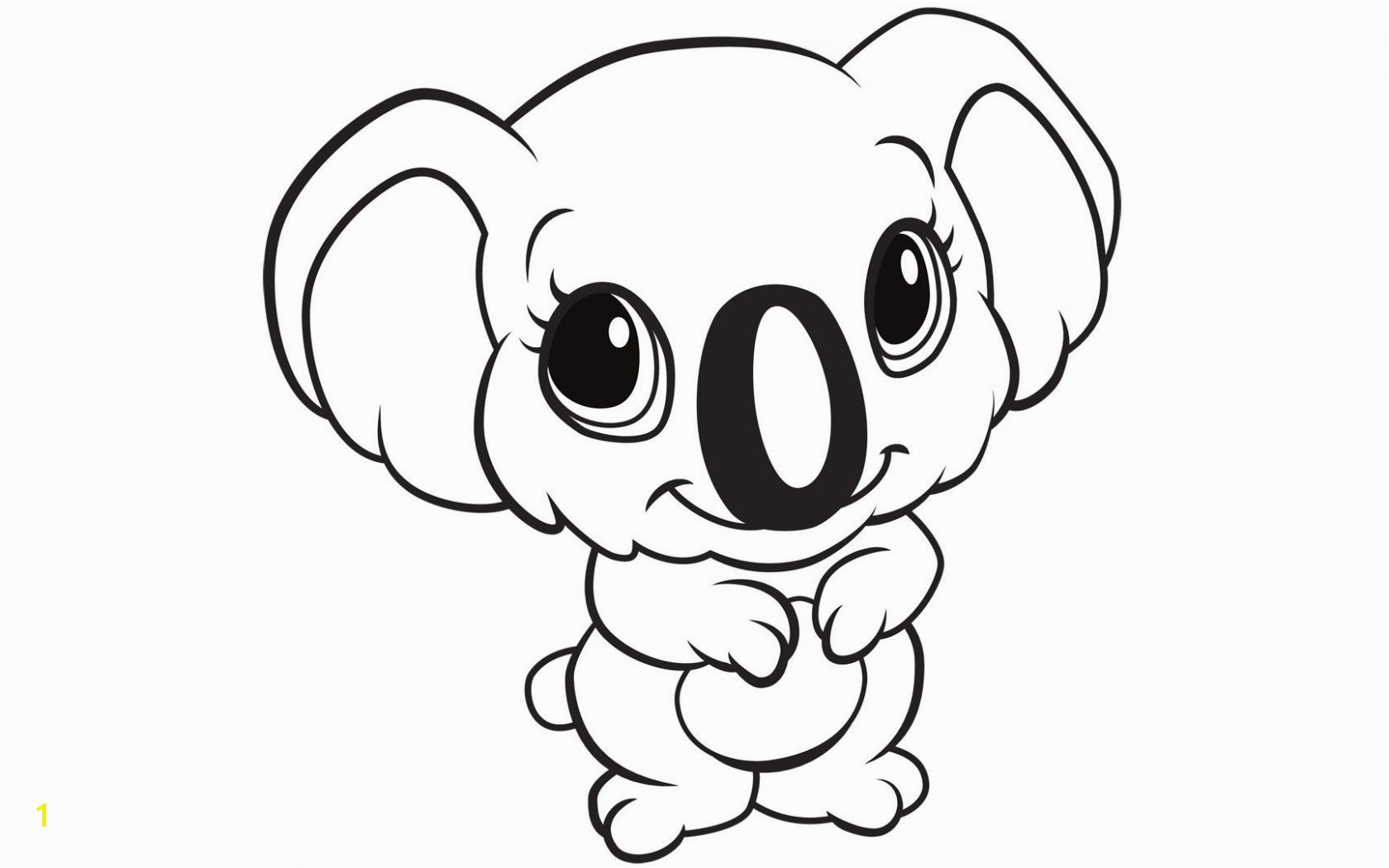 petitive Baby Animals Coloring Pages Best Cute Cartoon Gallery Printable Animal 7