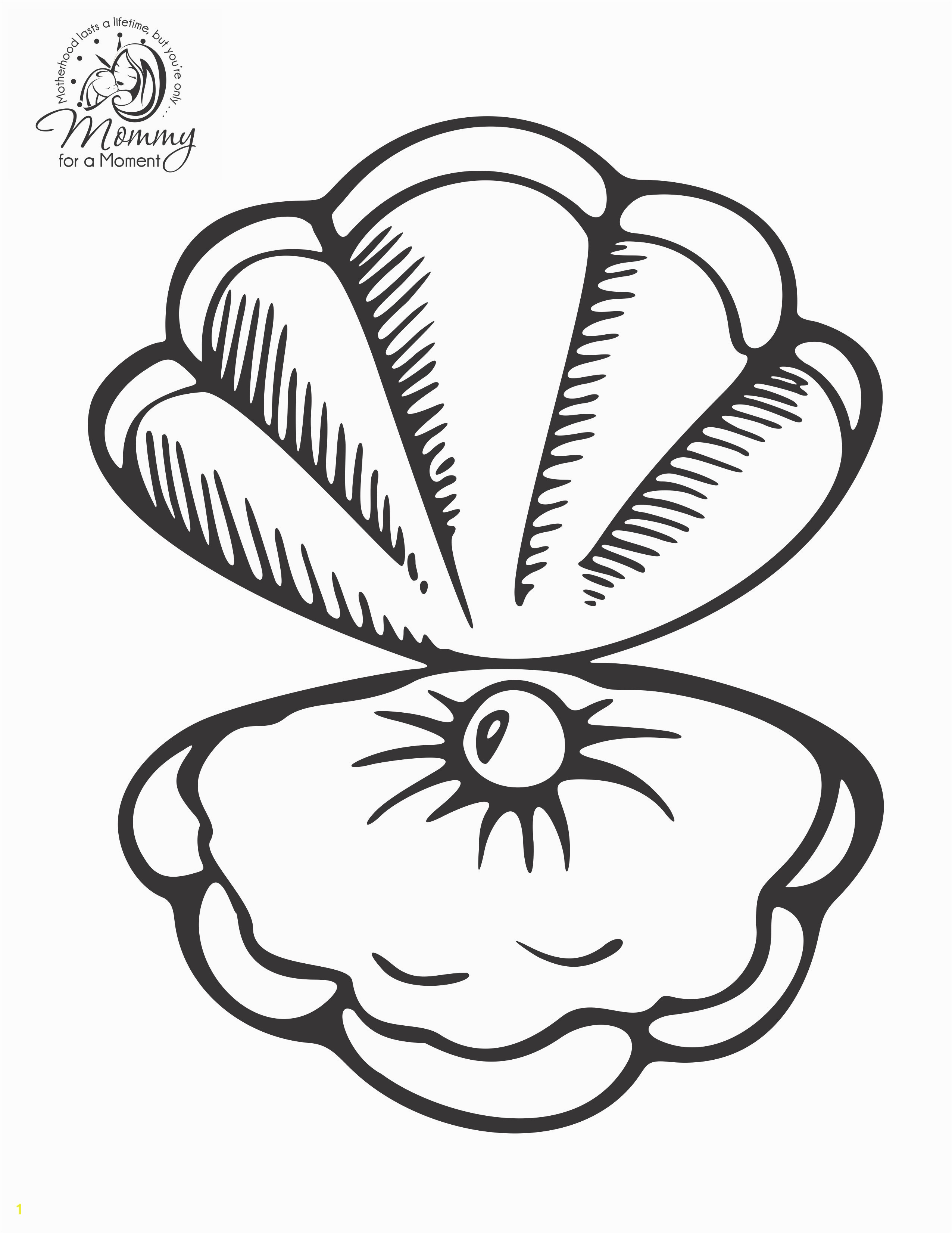 Best of seashell coloring sheet Download 1e Recycling Coloring Pages Inspirational Seashell Template Unique Recycling