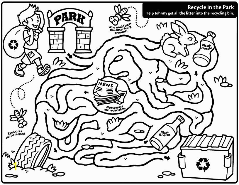 Reduce Reuse Recycle Coloring Pages Recycling Coloring Pages Printable Earth Day