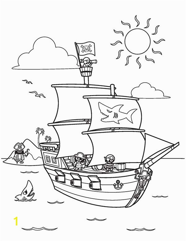 Romulus and Remus Coloring Page Inspirational Reduced Pirate Ship Coloring Page Free Printable 6351 with
