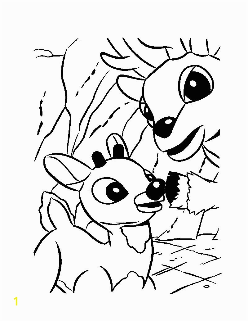 rudolph and his dad donner coloring page coloring page holiday coloring pages christmas