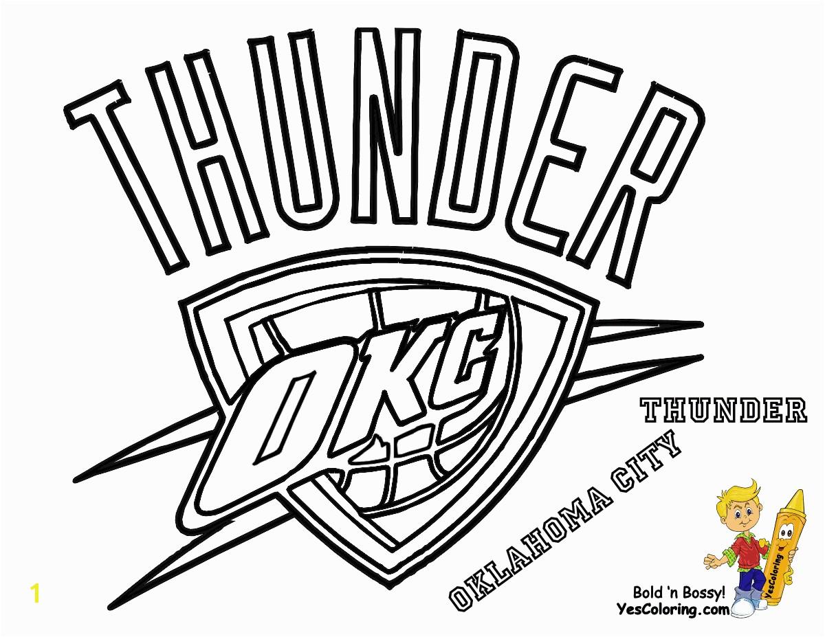 Thunder Basketball Logo