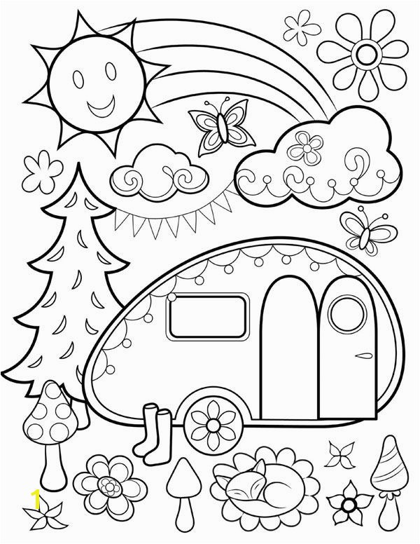 Free coloring page from Thaneeya McArdle s Happy Campers Coloring Book Campers Coloring Book Fun dp