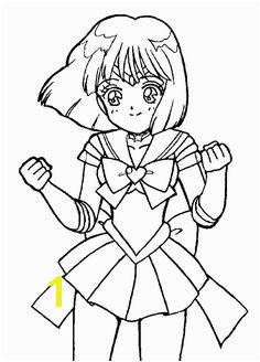 Sailor Saturn Cute · Sailor moon coloring pagesCute