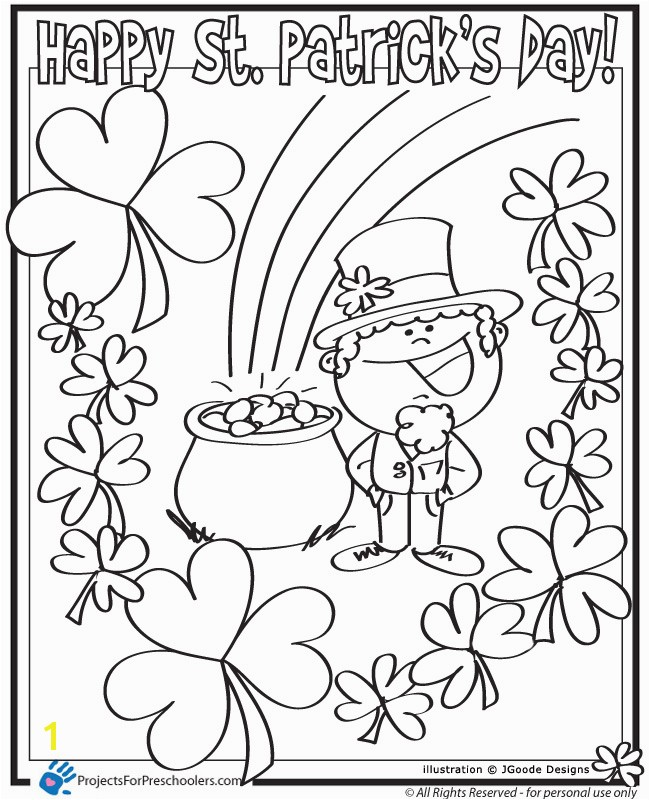 St Patricks Day Free Printables Printable St Patrick Day Coloring Pages Coloring Pages