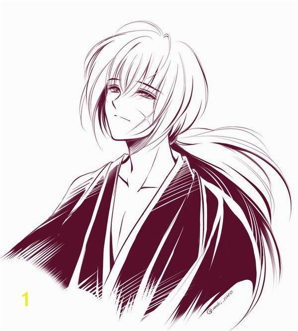 Samurai X Coloring Pages New Rasultat De Recherche Dimages Pour Kenshin Himura Anime