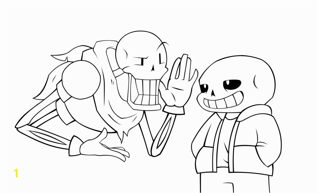 Sans Undertale Coloring Pages 18 Lovely Sans Coloring Page