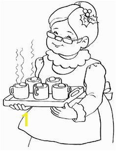 Santa and Mrs Claus Coloring Pages Christmas Coloring Sheets Santa Claus