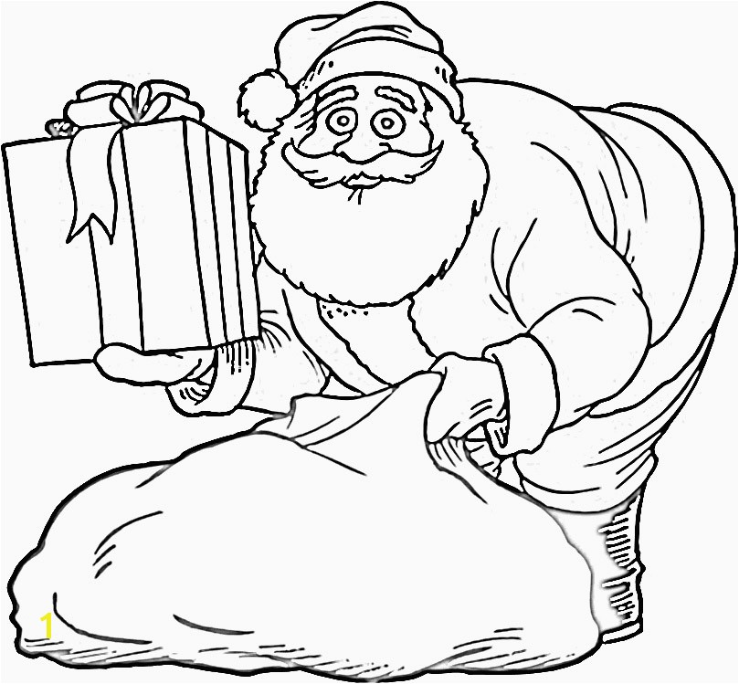 Father Christmas Colouring Pages Amazing Santa and Mrs Claus Coloring Pages Printable for Your Kids