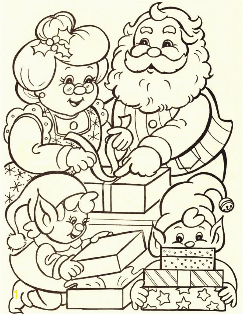 Santa Claus Coloring Pages Elegant Tolle Mrs Claus Ausmalbilder Galerie Druckbare Malvorlagen