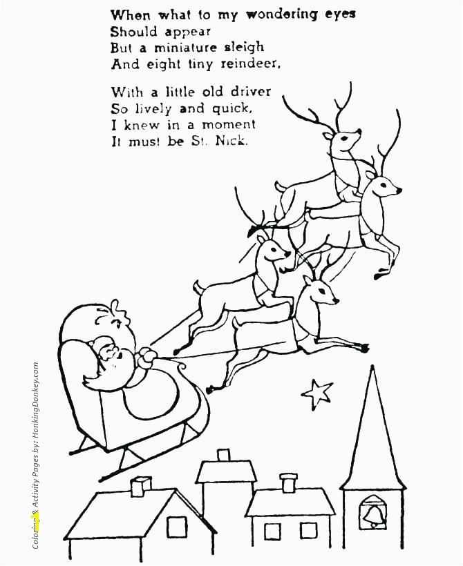 santa reindeer coloring pictures and reindeer coloring pages to her with reindeer coloring pages the page with