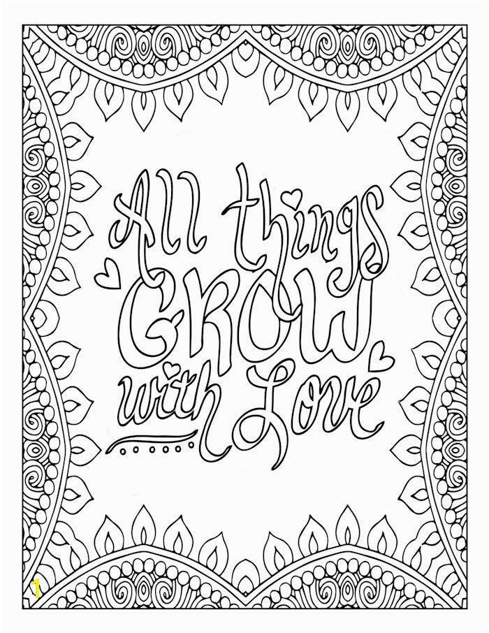 Motivational Word Art Coloring Page Inspirational Love Art Mandala Art Quote Typography Art by GsdladyCreations on Etsy