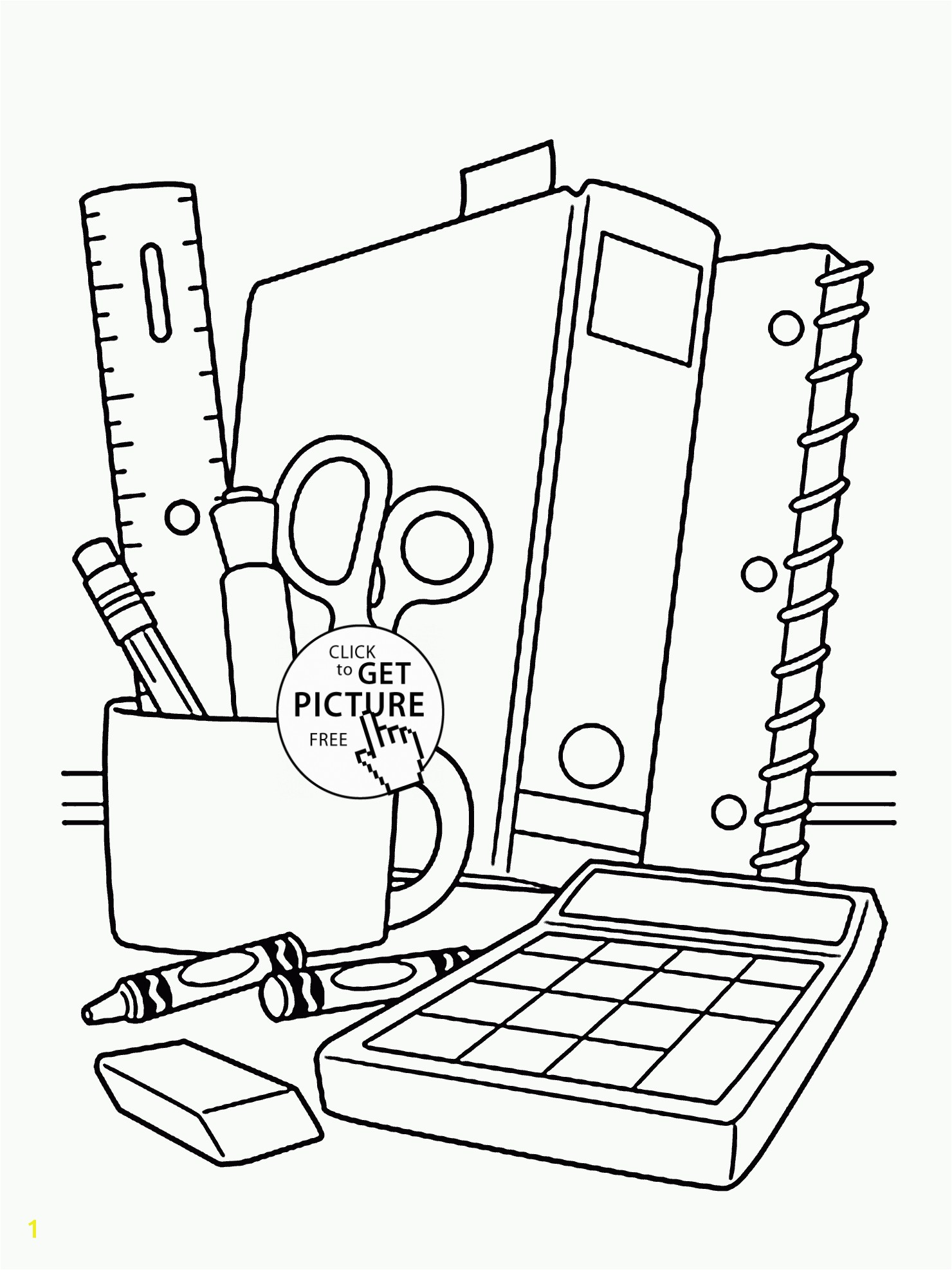 school supplies coloring sheet full size of coloring book and pages school coloring pages supplies page for children back