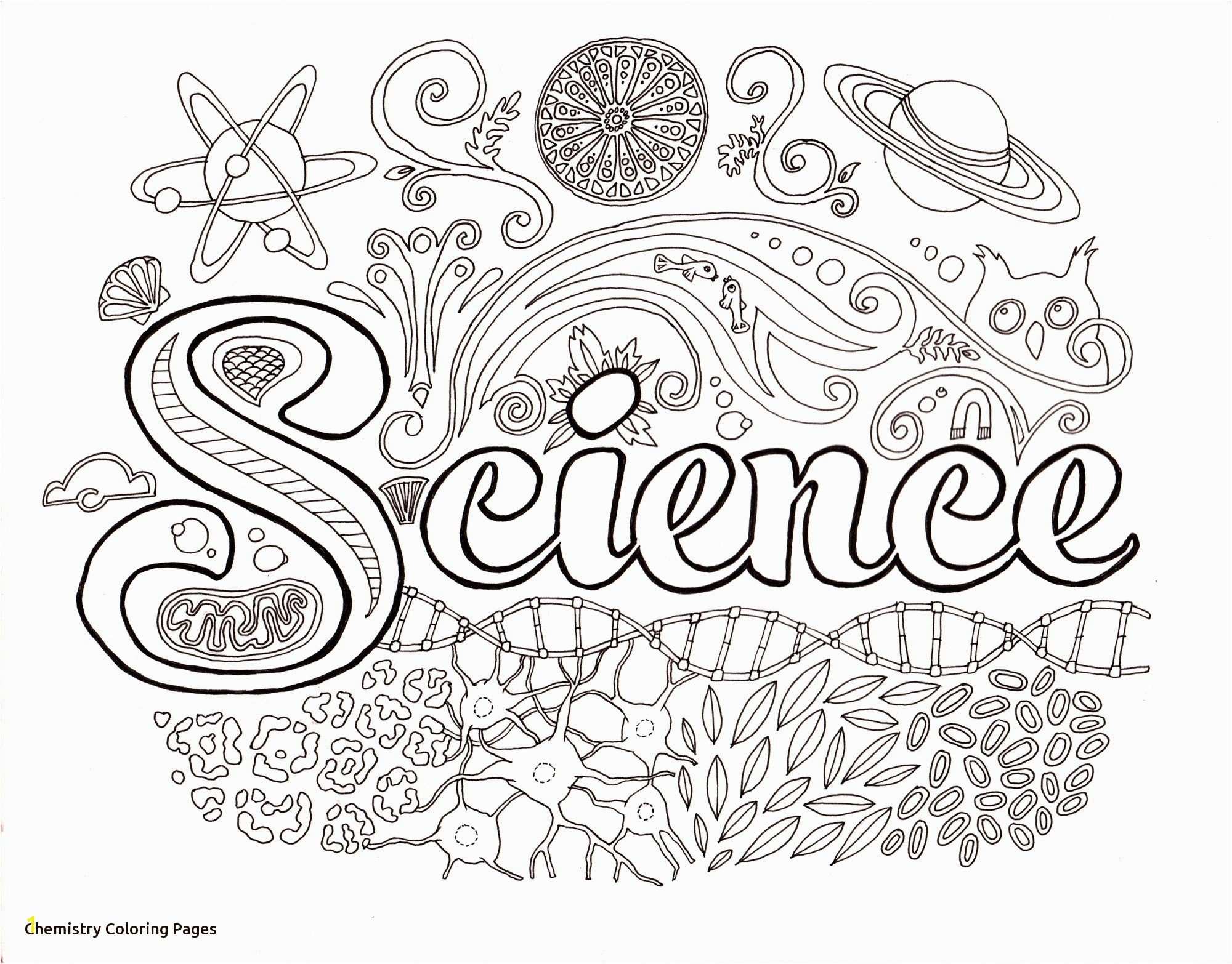 Free Printable Science Coloring Pages New soar Chemistry Coloring Pages Free Printable Science 9551