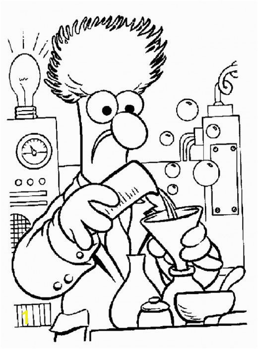 Science Coloring Pages for Preschoolers the Muppets Party Ideas & Free Printables