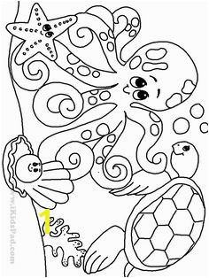 Free printable ocean coloring pages for kids Coloring pages featuring pictures of the nature and