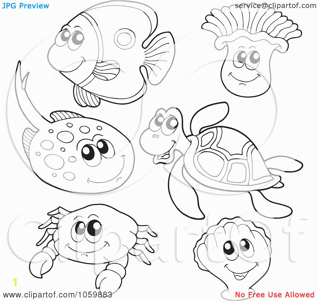 sea animal coloring pages printable ocean coloring pages printable