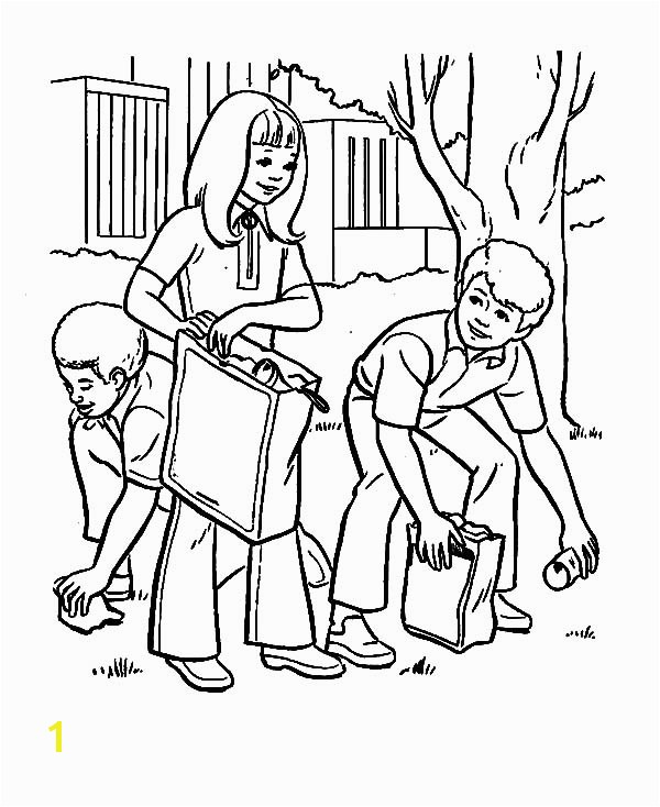 600x734 Helping Coloring Pages