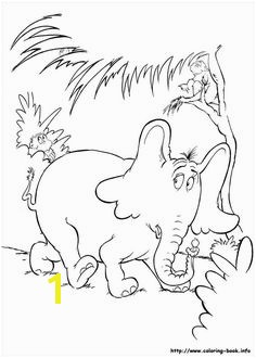 Free printable horton hears a who coloring pages for kids Color this online pictures and sheets and color a book of horton hears a who coloring pages