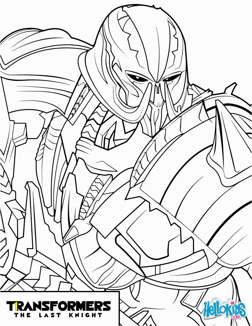 Seven Deadly Sins Coloring Pages New Tranformers Movie Megatron Coloring Page More Transformers